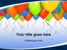 Download special ocassion balloons PowerPoint Template and other software plugins for Microsoft PowerPoint