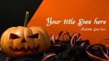 Pumpkin Ribbon Widescreen