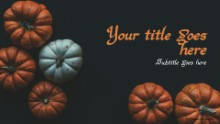 Pumpkins Small Widescreen