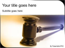 Download gavel PowerPoint Template and other software plugins for Microsoft PowerPoint