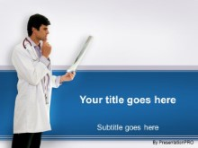 Download doctor review PowerPoint Template and other software plugins for Microsoft PowerPoint