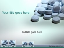 Download pills blue PowerPoint Template and other software plugins for Microsoft PowerPoint