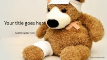 Teddy Bear Injured