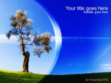 Download lone tree PowerPoint Template and other software plugins for Microsoft PowerPoint
