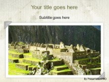 Download machu picchu PowerPoint Template and other software plugins for Microsoft PowerPoint