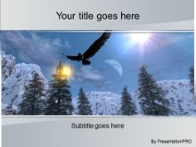 Download winter eagle PowerPoint Template and other software plugins for Microsoft PowerPoint