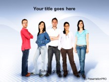 Download casual youth PowerPoint Template and other software plugins for Microsoft PowerPoint