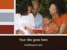 Download family four PowerPoint Template and other software plugins for Microsoft PowerPoint