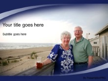 Download retired couple PowerPoint Template and other software plugins for Microsoft PowerPoint