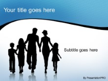 Download silhouette family PowerPoint Template and other software plugins for Microsoft PowerPoint