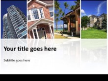 Download real estate collage PowerPoint Template and other software plugins for Microsoft PowerPoint