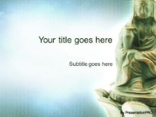 Download buddha PowerPoint Template and other software plugins for Microsoft PowerPoint