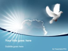Download dove in flight PowerPoint Template and other software plugins for Microsoft PowerPoint