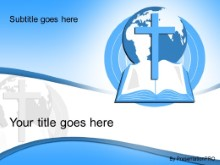 Download world religion blue PowerPoint Template and other software plugins for Microsoft PowerPoint