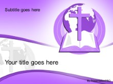 Download world religion purple PowerPoint Template and other software plugins for Microsoft PowerPoint