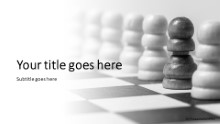 Pawns In Chess Widescreen