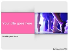 Download ballet dance PowerPoint Template and other software plugins for Microsoft PowerPoint