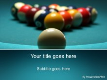 Download billiard ball PowerPoint Template and other software plugins for Microsoft PowerPoint