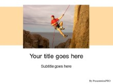 Download climbing PowerPoint Template and other software plugins for Microsoft PowerPoint