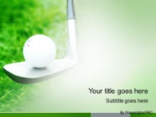 Download golf balance PowerPoint Template and other software plugins for Microsoft PowerPoint