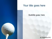 Download golf tee PowerPoint Template and other software plugins for Microsoft PowerPoint