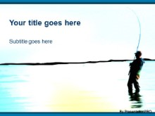Download gone fishin PowerPoint Template and other software plugins for Microsoft PowerPoint