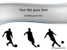 Download soccer stunts blue PowerPoint Template and other software plugins for Microsoft PowerPoint