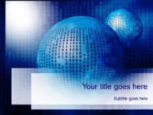 Download binary blue PowerPoint Template and other software plugins for Microsoft PowerPoint