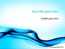Download blue fluid stream PowerPoint Template and other software plugins for Microsoft PowerPoint