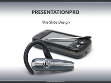 Download bluetooth headset pda PowerPoint Template and other software plugins for Microsoft PowerPoint