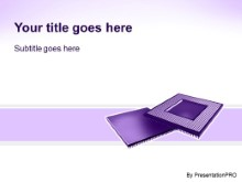 Download semiconductor purple PowerPoint Template and other software plugins for Microsoft PowerPoint