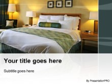 Download luxurious hotel room PowerPoint Template and other software plugins for Microsoft PowerPoint