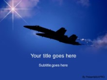 Download blue sky jets PowerPoint Template and other software plugins for Microsoft PowerPoint