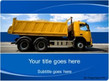 Download dumptruck load PowerPoint Template and other software plugins for Microsoft PowerPoint