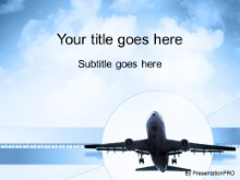 Download plane landing PowerPoint Template and other software plugins for Microsoft PowerPoint