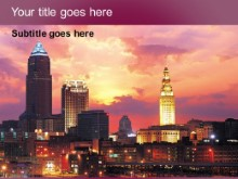 Download cleveland PowerPoint Template and other software plugins for Microsoft PowerPoint