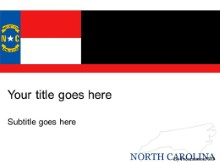 Download north carolina PowerPoint Template and other software plugins for Microsoft PowerPoint
