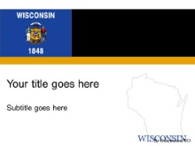 Download wisconsin PowerPoint Template and other software plugins for Microsoft PowerPoint