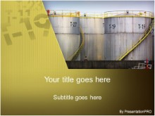 Download gas barrel tanks PowerPoint Template and other software plugins for Microsoft PowerPoint