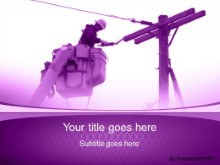 Download utility guy purple PowerPoint Template and other software plugins for Microsoft PowerPoint