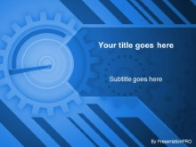 Download gears dkblue PowerPoint Template and other software plugins for Microsoft PowerPoint