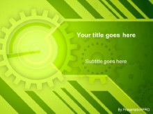 Download gears lime PowerPoint Template and other software plugins for Microsoft PowerPoint