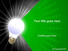 Download radial green PowerPoint Template and other software plugins for Microsoft PowerPoint