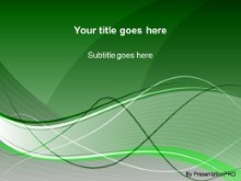 Download swoosh green PowerPoint Template and other software plugins for Microsoft PowerPoint