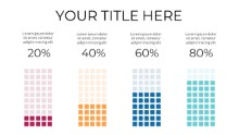 PowerPoint Infographic - Graph Dots