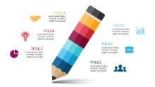 PowerPoint Infographic - Pencil