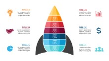 PowerPoint Infographic - Pyramid Rocket 02