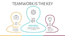 PowerPoint Infographic - Teamwork 8