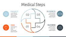 PowerPoint Infographic - Medical Steps 9