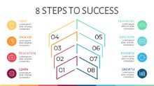 PowerPoint Infographic - Steps 10